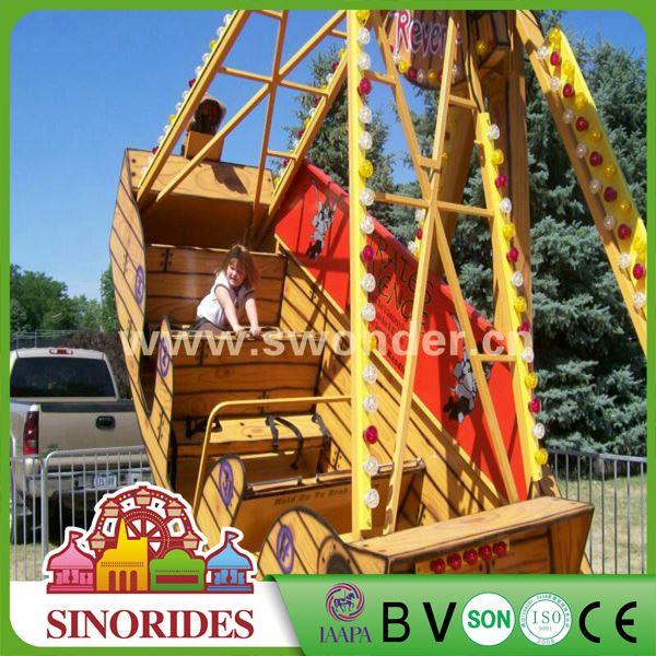[SINORIDES] mini pirate ship kids outside toys