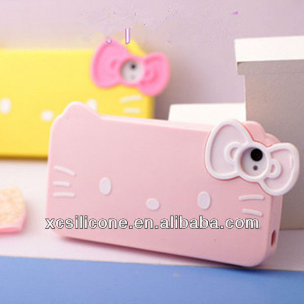2015 Colourful new silicone animal shaped phone cases