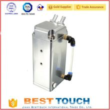 Hot sale silver square aluminum auto water tank 2.5 l water tank for toyota hiace