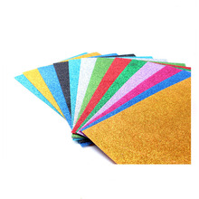 glitter fabric sheet for diy crafts material felt sheet printed craft glitter felt sheets