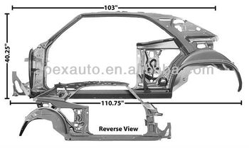 QUARTER/DOOR FRAME ASSY 69 LH (coupe) for CV CAMRO