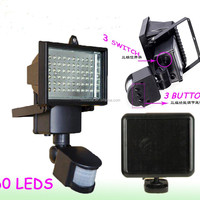 60 LED Solar Powered Wall Light