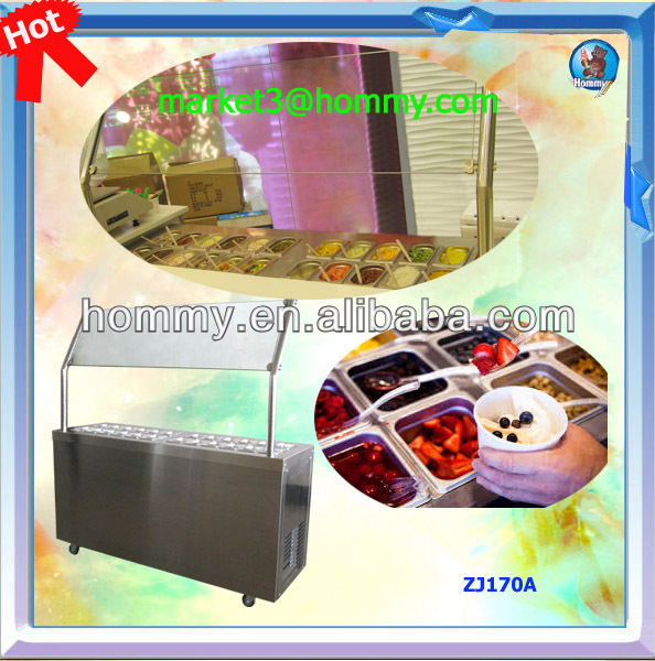 Refrigerated Topping Bar
