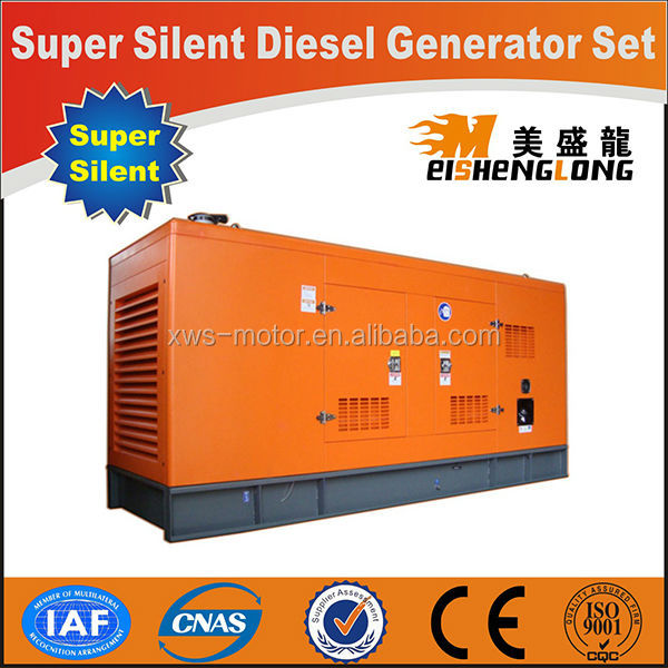 Diesel engine silent generator set genset CE ISO approved factory direct supply sound insulation generator