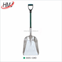 Aluminium snow shovel scoop