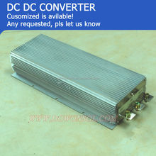 dc dc converter 24v to 48v 52A 3000W dc dc power supply module boost converter high output input voltage