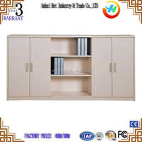 Modern steel office furniture 2 swing metal file cabinet / steel file cabinet