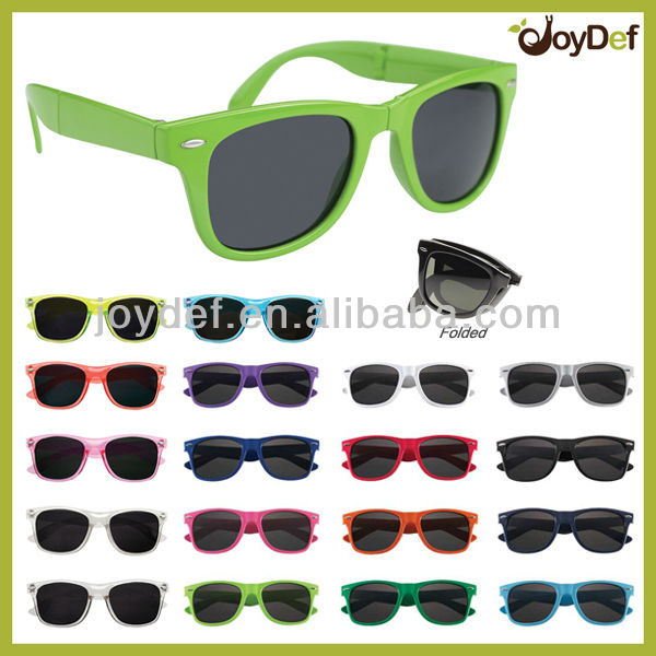 2016 fashion sunglasses sun glasses Hot Sale Vintage CE UV400 Promotional Folding Sunglasses Foldable Sun Glasses