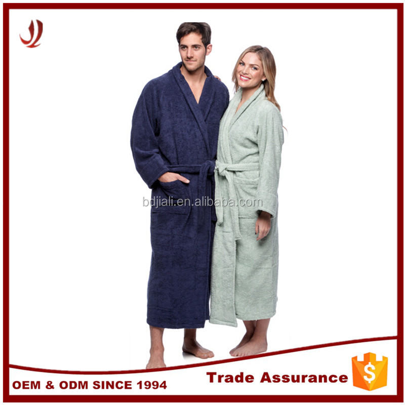 Factory Direct Supply Wholesale 100% Cotton Hotel Bathrobe
