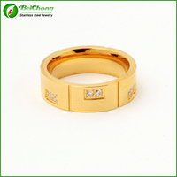 Gold plated jewelry engagement gold ring molds