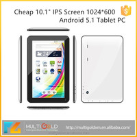 China factory 10.1 inch Tablet PC, 10inch IPS Screen 1024*600 Quad Core WIFI Bluetooth Android Cheap Tablet