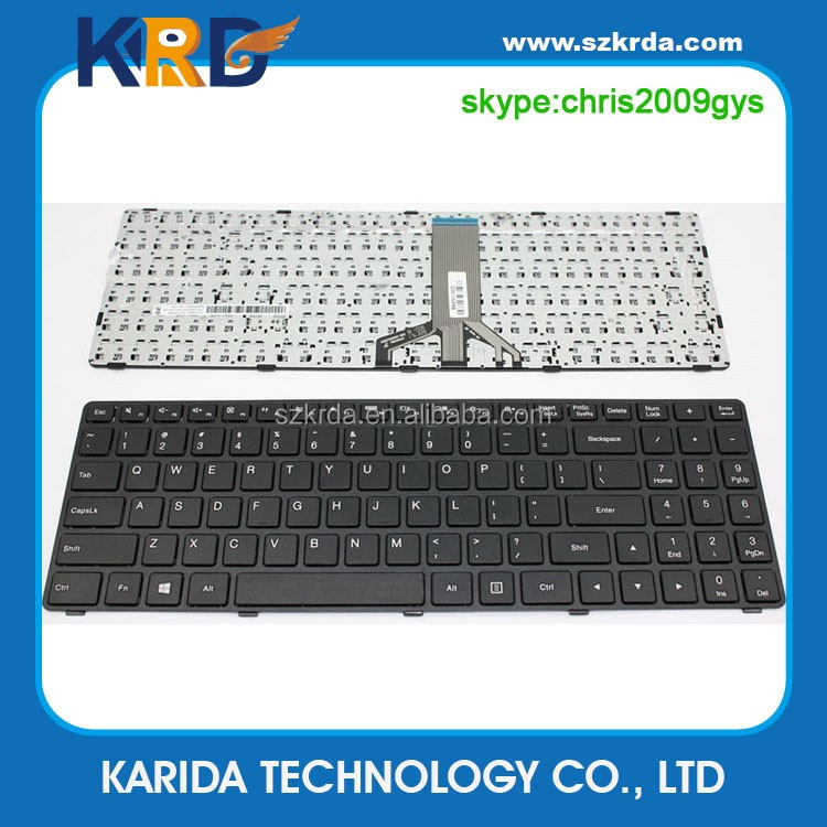 New laptop factory price Keyboard for Lenovo 100-15 100-15IBD 100-15IBY laptop keyboard US/ITA/SP/FR/BR/RU/TR/AR
