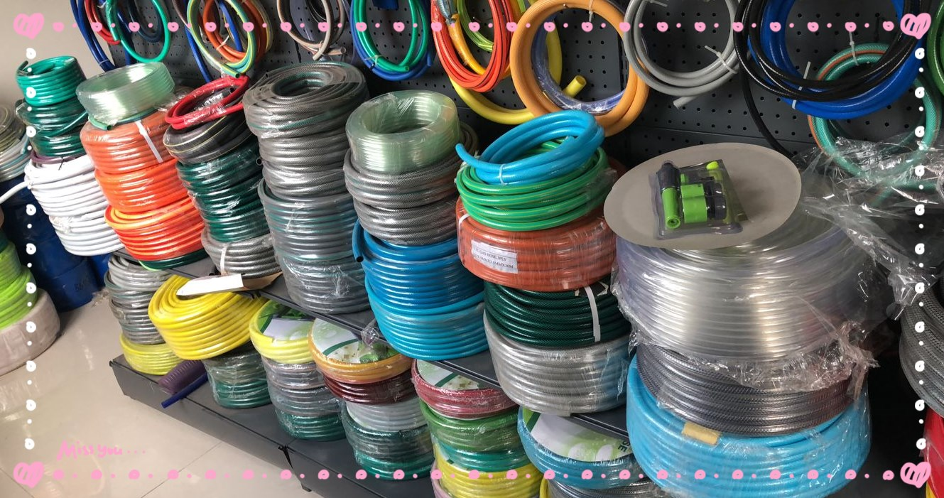 Factory wholesale 50ft PVC garden hose pipe with  competitive price