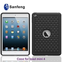3 in 1 Diamond Combo Tablet Tough Cover for iPad Mini 4 Mobile Phone Case