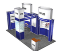 portable aluminum tradeshow booth exhibition booth design from China booth factory