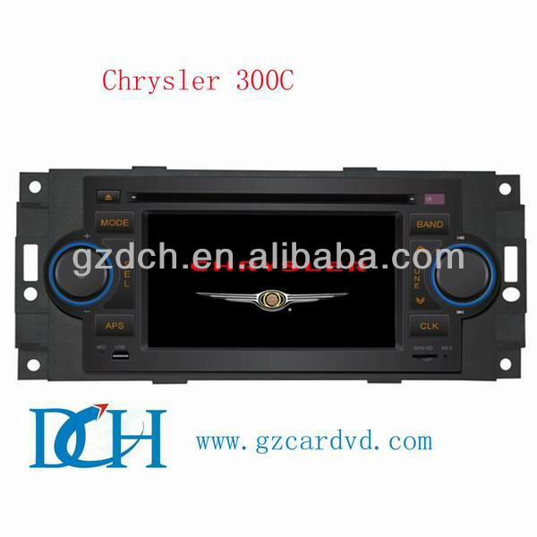 2 din car dvd for JEEP Chrysler 300C Compass,Sebring, Grand Cherokee, Caliber with 3G funtion WS-9111