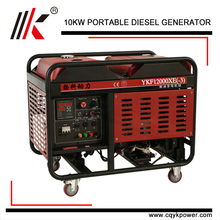10KVA 2 CYLINDER DIESEL GENERATOR SILENT WITH NAMES OF PARTS OF GENERATOR