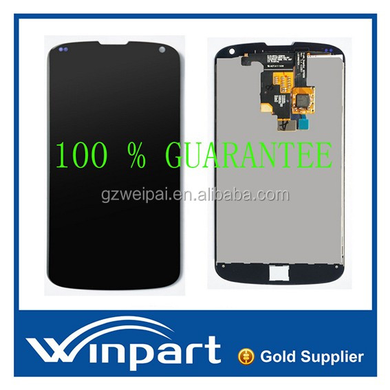 [win part]Mobile phone lcd for lg nexus 4 e960 lcd touch screen replacement