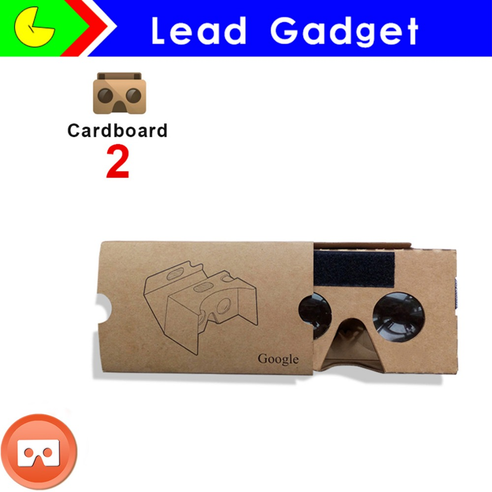 3D Google V2.0 Cardboard Glasses and Polarized 3D Glasses Type Vr Cover