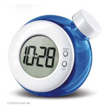 Water Power Alarm Clock