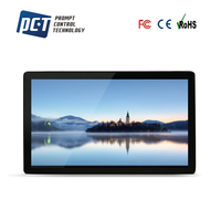27 inch wall mount pure flat open frame pcap lcd touch screen monitor