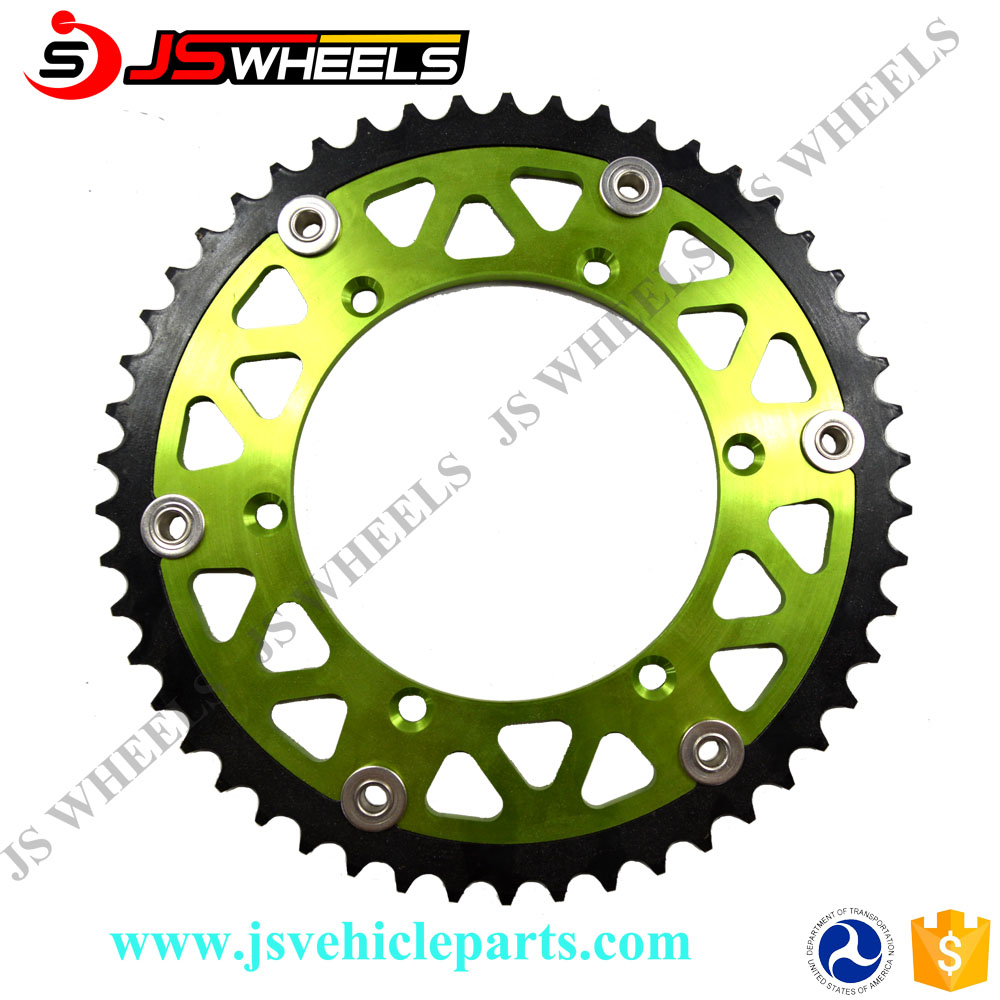 Moto Kawasaki KX 250 F Motorcycle Transmission Parts Sprocket Kit
