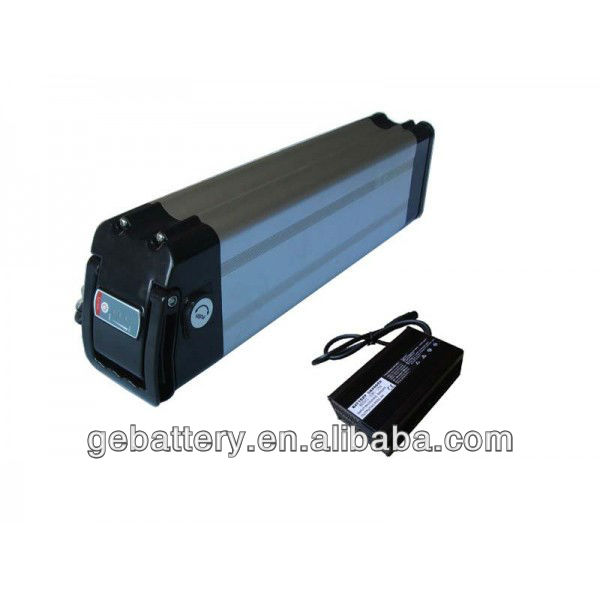 e-bike 36v 16ah lifepo4 battery with charger