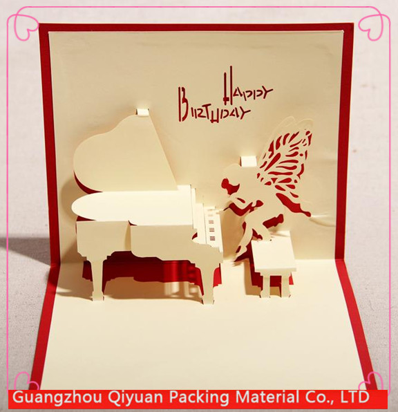Wholesale new product happy diamond birthday greeting <strong>card</strong>
