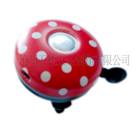 Luxury Gifts mrtal printing red bicycle bells/bike bells