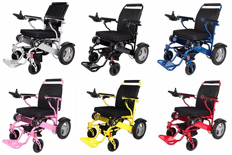 Medical Supplies Adjule Automatic Aluminum Alloy Power Electric Wheelchair Philippines Small Dubai