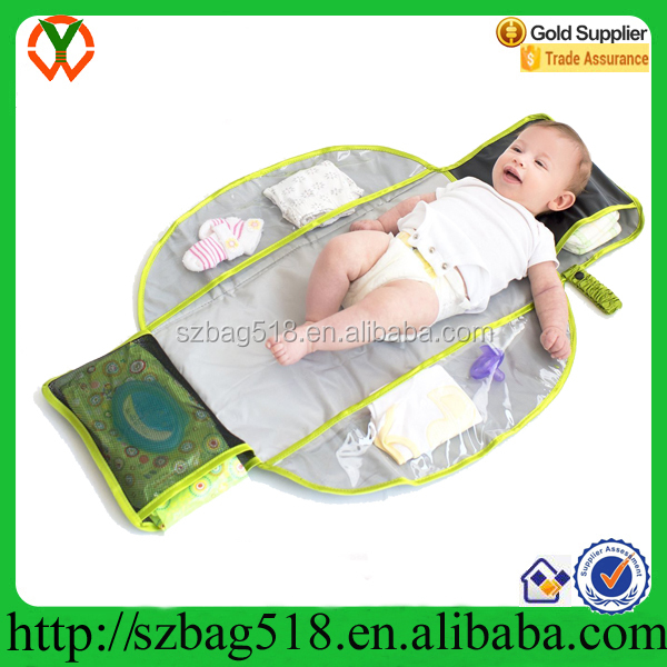 Mudder Changing Pad, Portable Baby Diaper Changing Mat Travel Changing Station