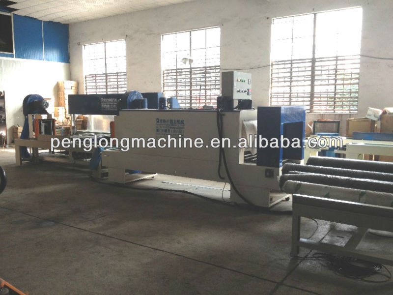 Shrink fabric Wrapping Machine.textile packaging equipement/machine equipment for textile