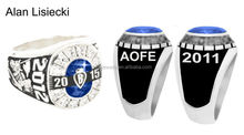 not fade stainless steel high school class rings cheap cost with deeply engraved