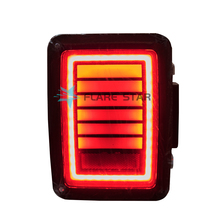 LED Tail Light For Jeep Wrangler Offroad Brake Reverse Turn Signal Rear Lights Funtional 4x4 Accessories