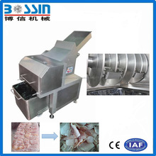 High-rate efficient low price frozen meat cutter production line