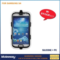 Hot selling for samsung s4 hybrid case