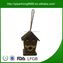 Competitive Price Outdoor Resin Bird House Decorative