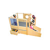 Fast Delivery Play Area Climbing Structure Outdoor Playground Equipment with good quality
