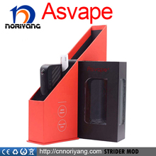shenzhen electronic cigarette distributor box mod indonesia Strider 75w mod in stock