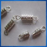 Clever Clasp Jewelry Fastener,End Fastener,Screw Clasp