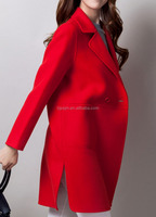 women long cashmere coat/ long korean style coat for women/ the most popular women cashmere coat