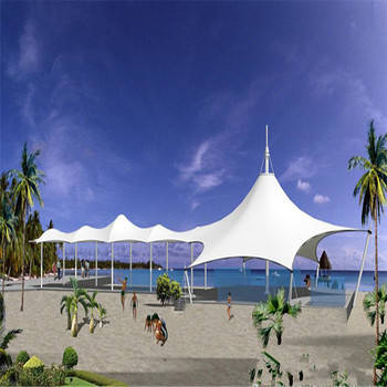 Ruibo Landscape Tents with tensile fabric membrane PVC cover
