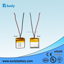 rechargeable 3.7v 75mah lithium polymer battery
