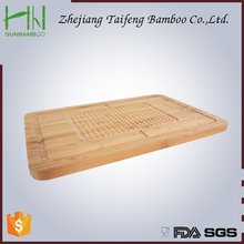 Natural bamboo chopping board and thicken the block board Senior high nanmu solid cutting board