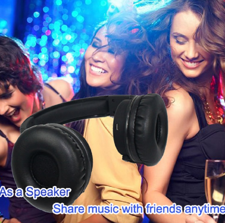 2-in-1 factory direct bluetooth rf transmitter for wireless headphone with loud speaker
