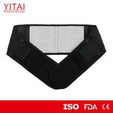 China supplier self heating back support brace with FDA certification
