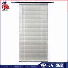 Rod Cordless System pvc mini venetian blinds/window blinds slats