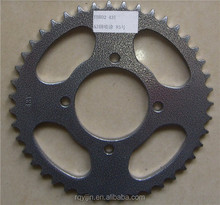 China supplier cnc roller chain and sprocket YBR125 for sale