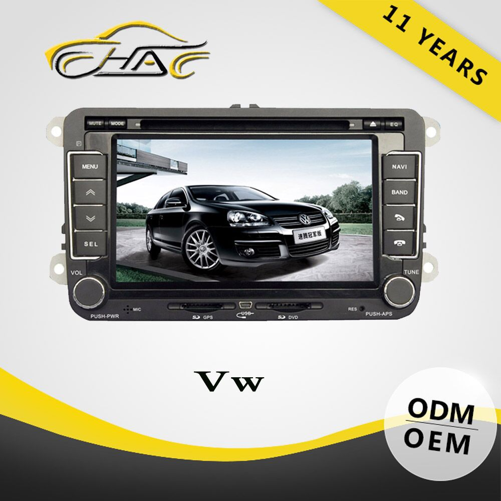 Double Din DVD Car Player For VW PASSAT/ GOLF/ POLO Radio Audio GPS Navigation System