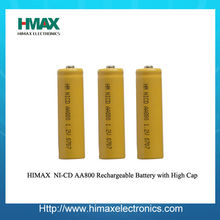 Ni-CD Rechargeable 12V AA Battery Pack 800mAh